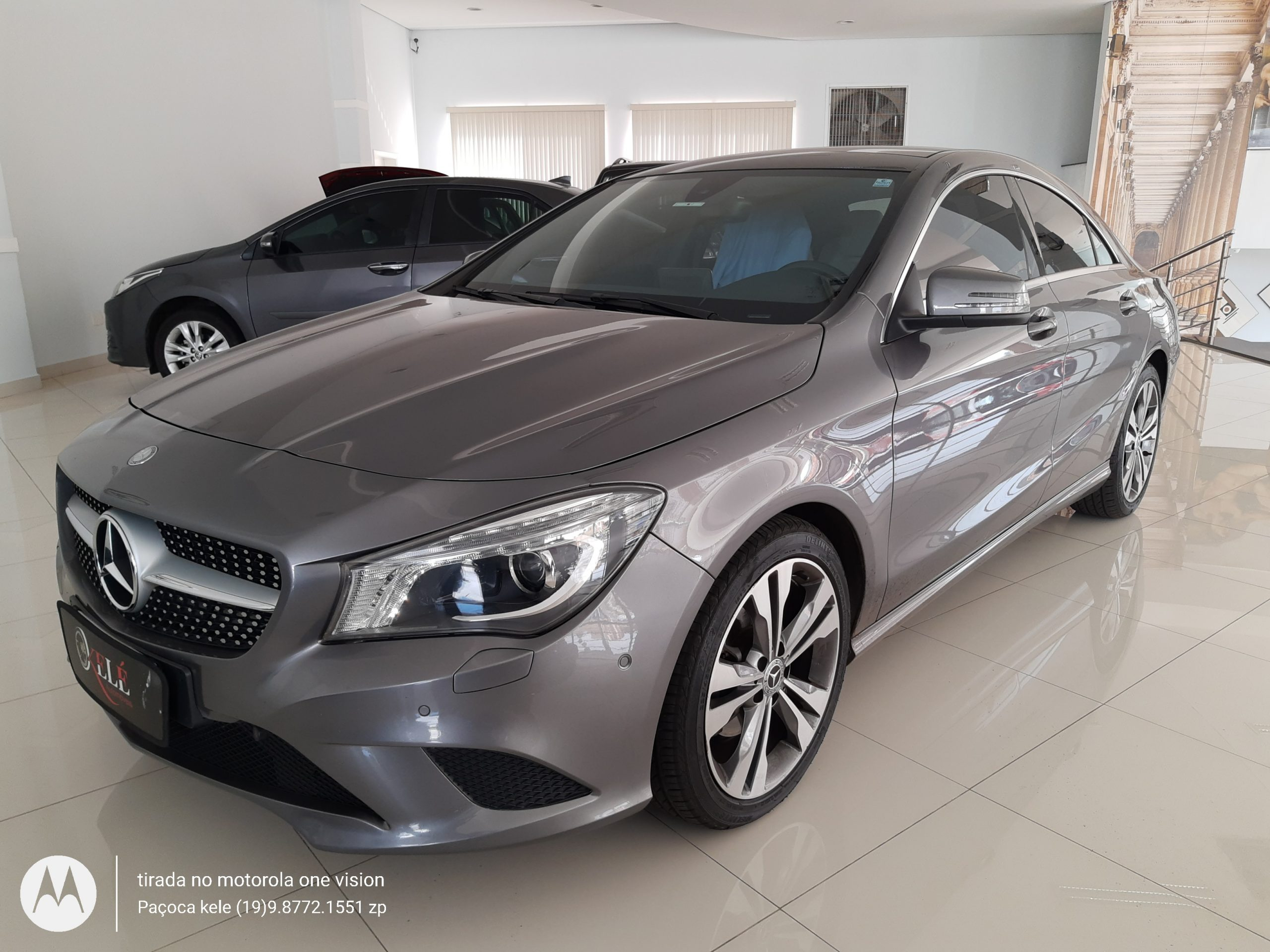 MERCEDES-BENZ CLA 200 VISION 1.6 TURBO