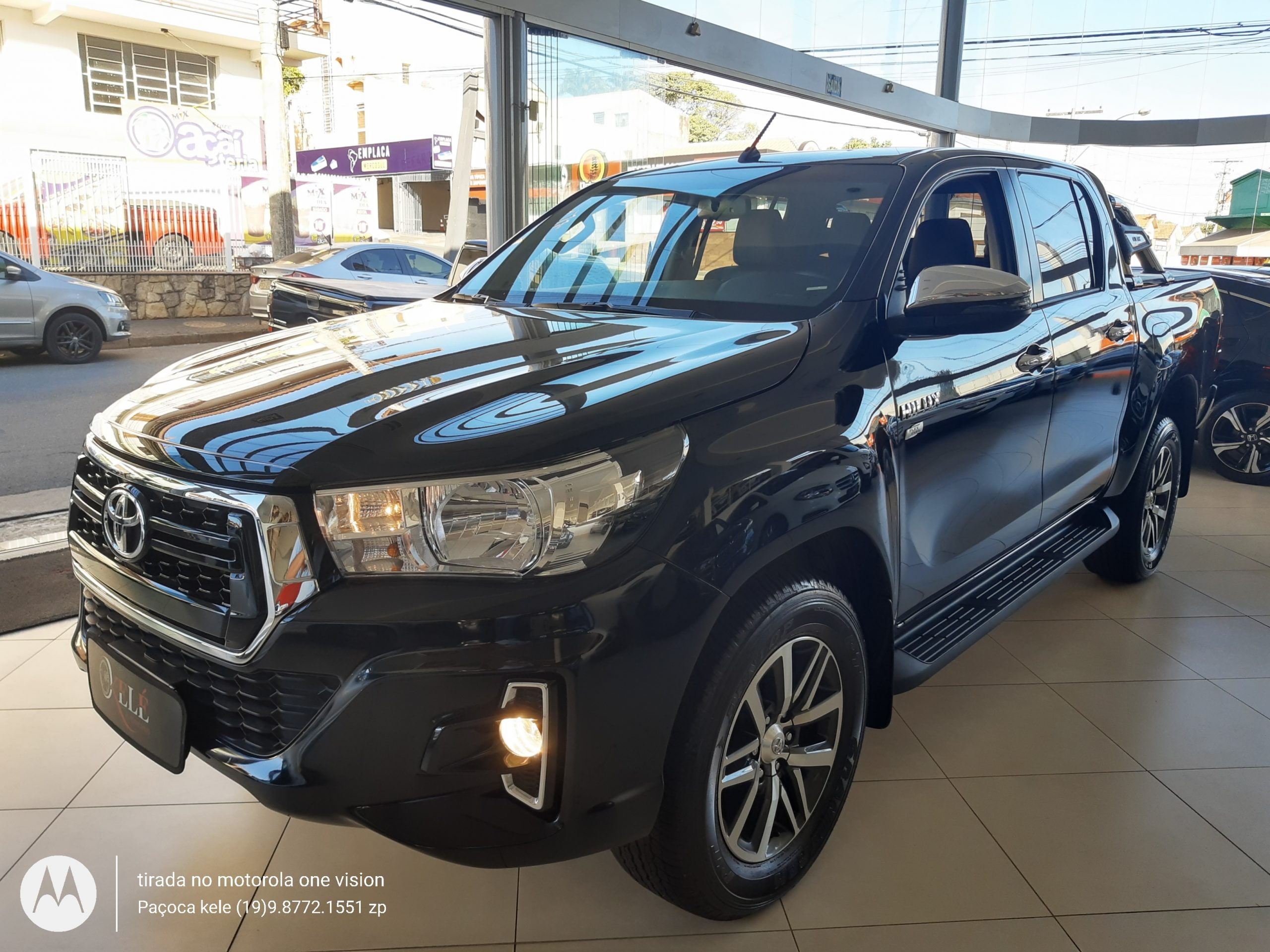 TOYOTA HILUX SRV 2.7 4X4 AT CD